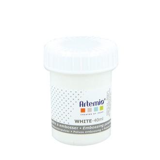 Poudre à embosser white 40ml