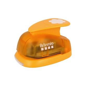 ARTEMIO - Grande perforatrice fleur orange 3,5 cm