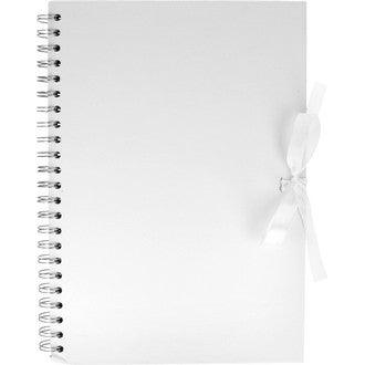 ARTEMIO -Album en kraft blanc 40 pages A4