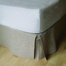 Achat en ligne Cache sommier beige 90X190cm Hauteur 30cm