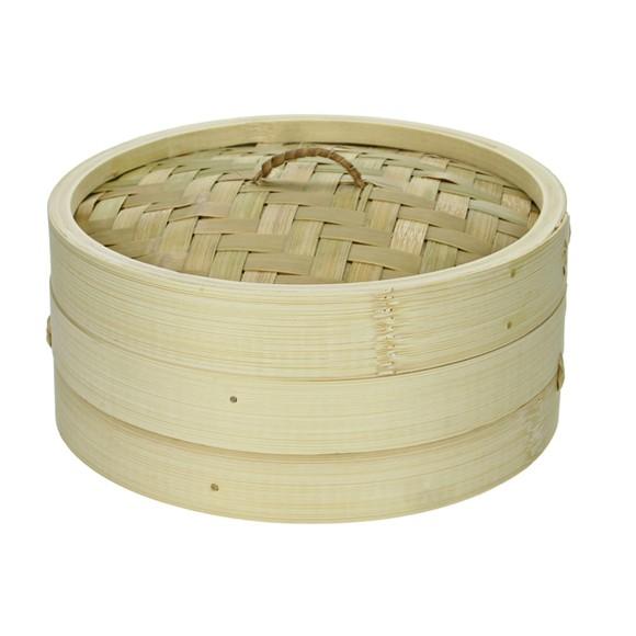 Cuit-vapeur en bambou 18x8cm
