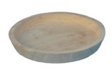 Achat en ligne Plateau pour cloche en bois d25xh3cm