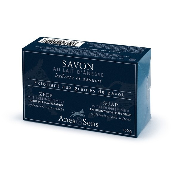 Achat en ligne Savon au lait d'anesse exfoliante 150g