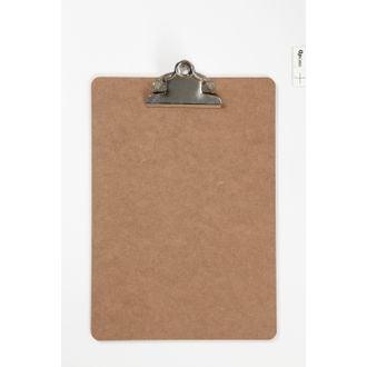 Porte document en bois avec clip en métal 19x27cm