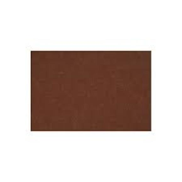 1 feuille feutrine brun 42x60cm ép 3 mm