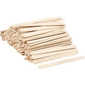 Lot de 200 bâtons de galce en bois 11,5cm