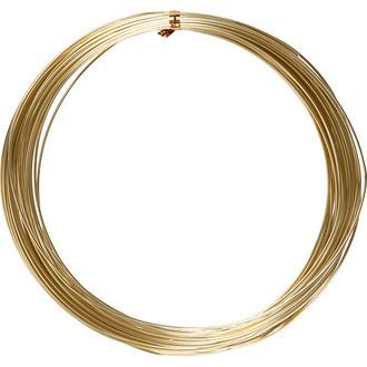 Fil d'aluminium doré 16 métres de long