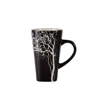 Mug gm arbre noir