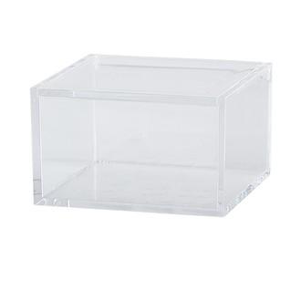 Boîte à bijoux transparente 6x10x10cm