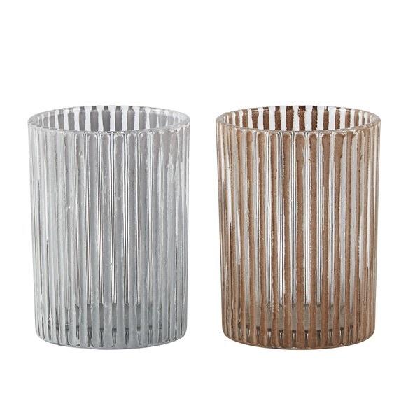 support bougie chauffe plat blanc et rose stries 7x9 5cm pas cher z dio. Black Bedroom Furniture Sets. Home Design Ideas