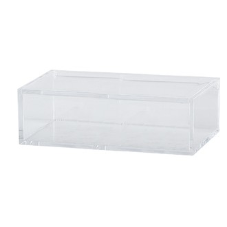 KJ COLLECTION - Boîte à bijoux transparente 5x16x10cm