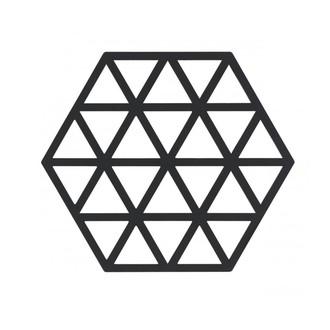 Dessous de plat triangle black