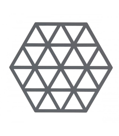 Achat en ligne Dessous de plat triangle gris