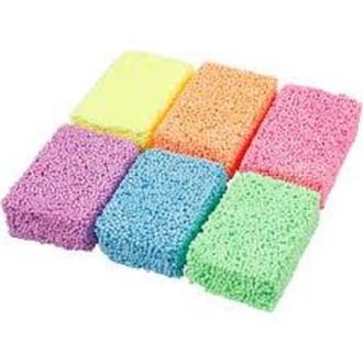 6 Paquets de Foam différents coloris