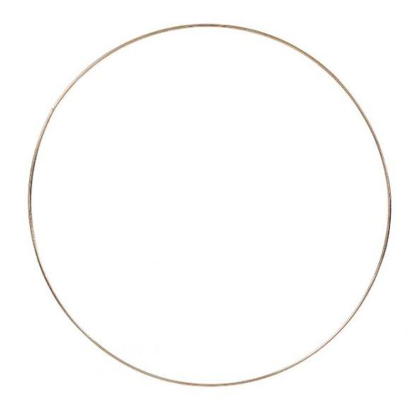 Cercle doré à personnaliser 30cm