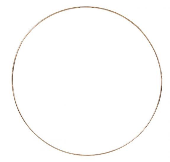 Achat en ligne Cercle doré à personnaliser 30cm