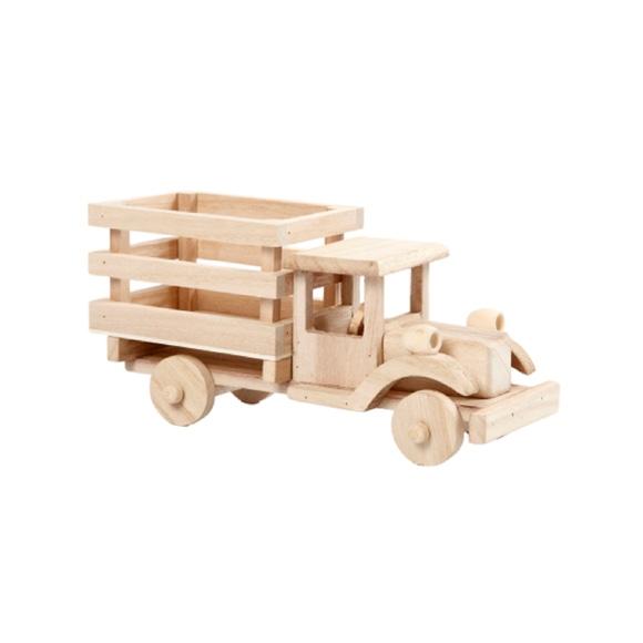 Achat en ligne Camionette bois 11x22x7,5cm