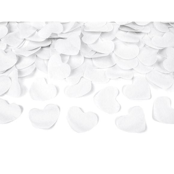 Canon à confettis cœur rose 60cm