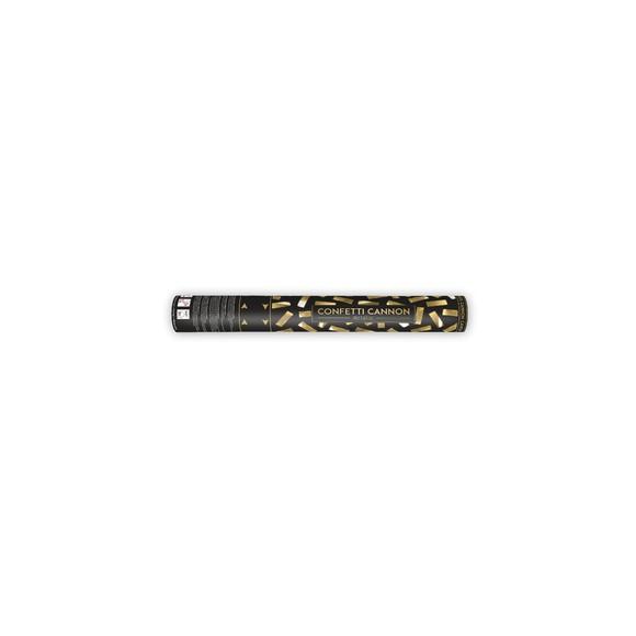 Canon à confettis or métallic 40cm