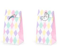 compra en línea Bolsas de chucherias o dulces de unicornio de hadas con pegatinas