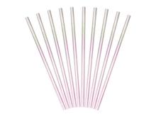 Achat en ligne 10 pailles carton iridescent rosé 19,5cm