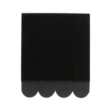 Achat en ligne 24 bandes adhésives noir charge jusqu'à 7,2kg