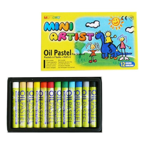 Achat en ligne 12 pastels à l'huile pour enfants