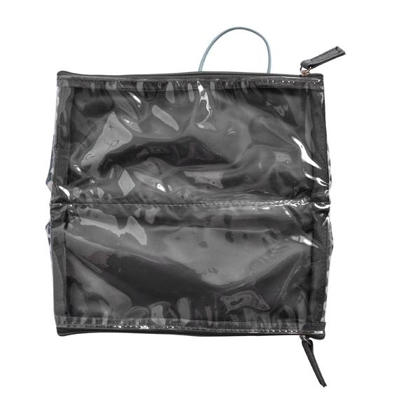Achat en ligne Trousse de toilette en coton enduit tempête 22x2.5x10cm