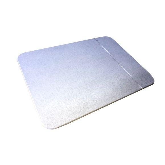 Tapis de bain 55x40cm en diatomite absorbant gris