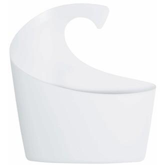 Panier de douche en plastique blanc Sydney Taille S