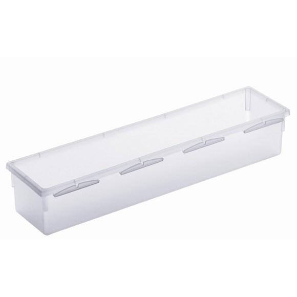 Organiseur de tiroir transparent 30x8cm