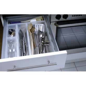 ROTHO - Organiseur de tiroir en plastique transparent 38x8cm