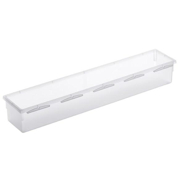 acquista online Porta posate per cassetti in plastica trasparente 38x8cm