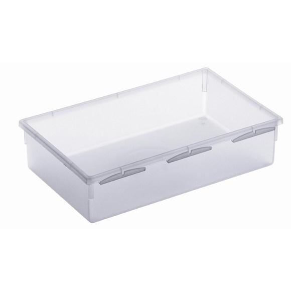 acquista online Porta posate per cassetti in plastica trasparente 23x5cm