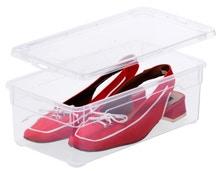 Achat en ligne Boîte à chaussures transparente 33x19x11