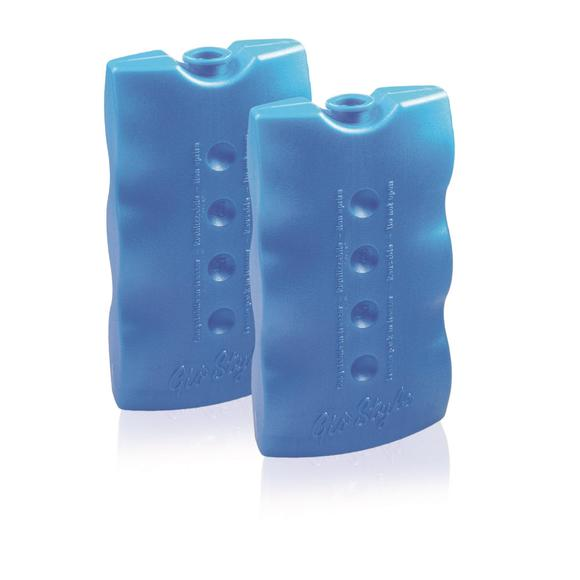 Lot de 2 pains de glace bleu 400g