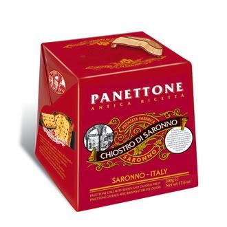 Panettone traditionnel aux fruits confits et raisins secs 500g