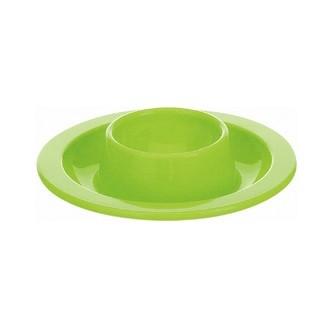 Coquetier rond bleu/vert/orange/blanc 10cm