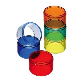 Lot de 6 ronds de serviettes multicolores