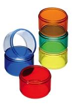 Achat en ligne Lot de 6 ronds de serviettes multicolores