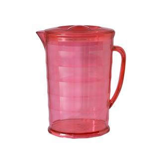 Pichet en plastique rouge 2L