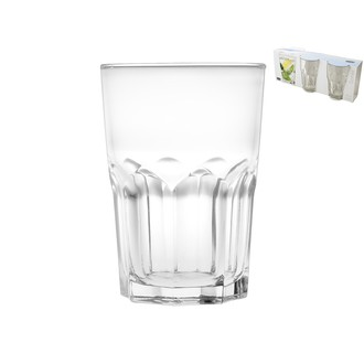 Set de 3 verres Mojito Soirée 40cl