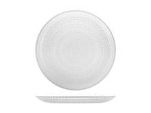 Achat en ligne Assiette plate en verre venéré transparent 28 cm