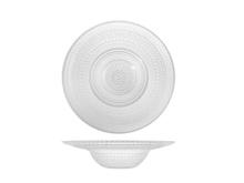 Achat en ligne Assiette à pates en verre transparent venere 25,5cm