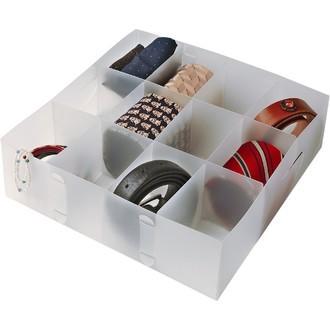 Séparateur de tiroir 12 compartiments blanc