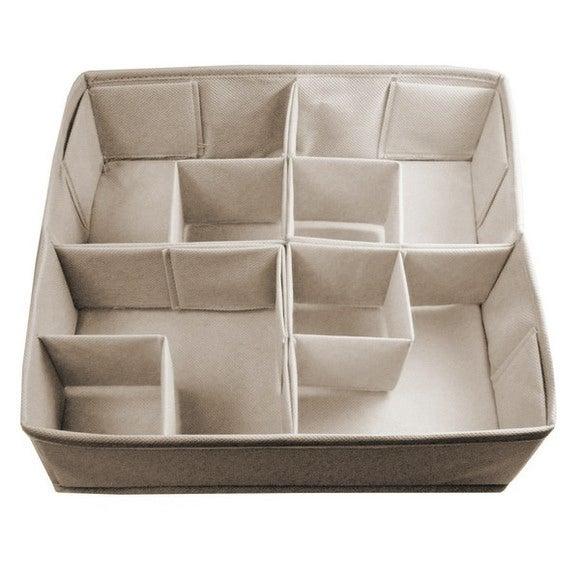 Séparateur de tiroir 16 compartiments beige Pas cher - Zôdio c71c79b1b054