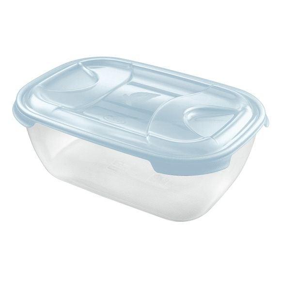 compra en línea Tupper de plástico cierre a presión Nuvola 3 L (26 x 19 x 10 cm)