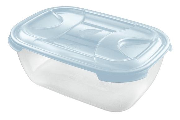 Achat en ligne Boite de conservation rectangulaire en plastique Nuvola 3L