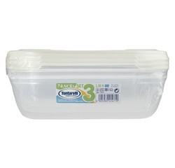 Achat en ligne Lot de 3 boites rectangles en plastique Nuvola Acqua 1,15L