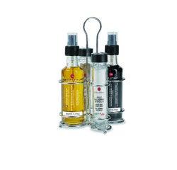 Achat en ligne Huilier Dorica 4 pièces huile,vinaigre,sel,poivre 270g